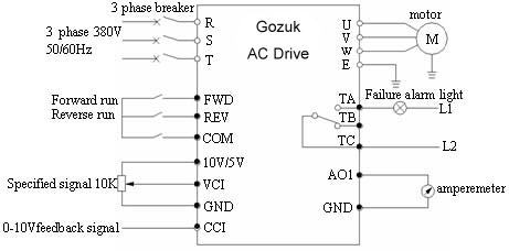 AC drive system 3055 ac drive in constant pressure water supply system ac drive wiring diagram at creativeand.co