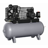 Variable speed drive in air compressor