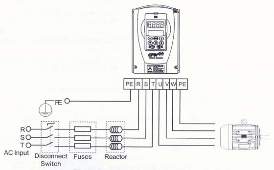 vfd wiring diagram line reactor   31 wiring diagram images