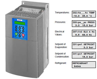 Variable frequency drive for refrigeration compressors