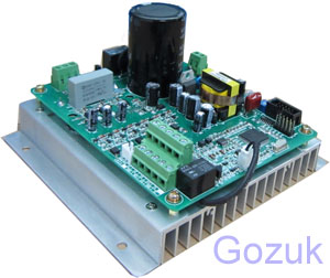Single phase inverter 220v input 3 phase output for 3 phase vfd single phase motor